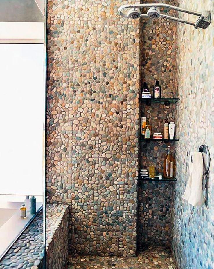 мозаика в маленькой ванной комнате дизайн фото